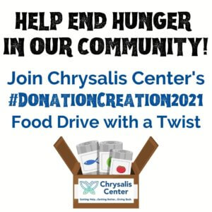 Donation Creation Food Drive with a Twist